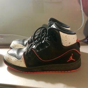 Nike Jordan 1 Flight 2 Basketball Shoes Grey/Black